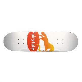 Fairytale Unicorn with Love Skateboard Deck