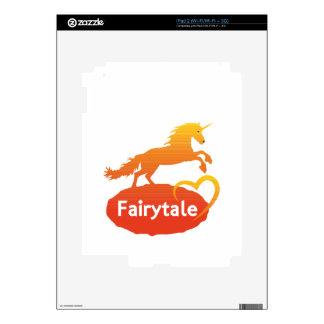 Fairytale Unicorn with Love Skin For iPad 2