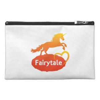 Fairytale Unicorn with Love Travel Accessory Bag