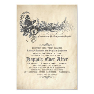 Fairytale Wedding Invitations Zazzle
