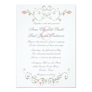 fairytale wedding invitations  announcements  zazzle, Wedding invitations