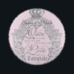 "Fairytale Wedding Personalized Candy Tin Favor<br><div class=""desc"">Fairytale Pink Wedding Personalized Candy Tin Favor. Matching items available.</div>"
