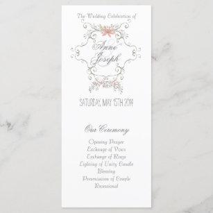 Fairytale Wedding Program Ii