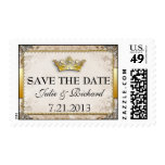 Fairytale Wedding Save the Date Postage
