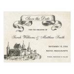Fairytale Wedding Save the Date Postcard