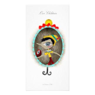 Fairytale whimsical customizable Photo Card