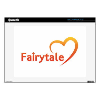Fairytale with Love Acer Chromebook Decals