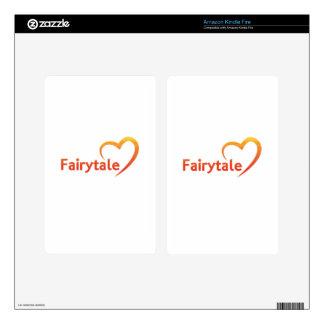 Fairytale with Love Kindle Fire Skin