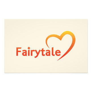 Fairytale with Love Stationery