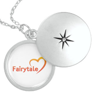 Fairytale with Love Sterling Silver Necklace