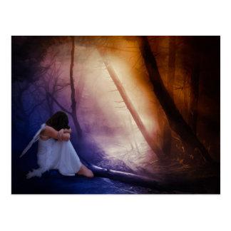 Fairytales and Snowflakes Postcard