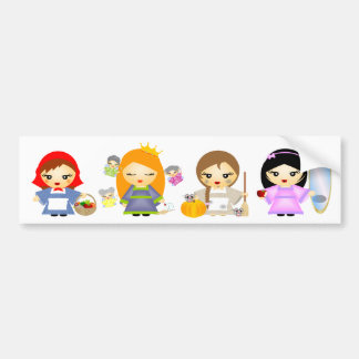 Fairytales Bumper Sticker