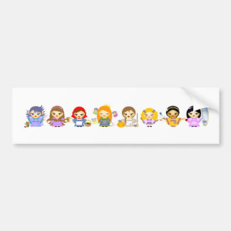 Fairytales II Bumper Sticker