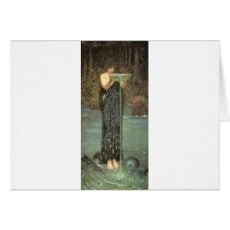 Fairytalesque.  Circe Greeting Card