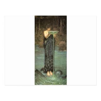 Fairytalesque.  Circe Postcard