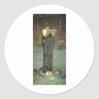 Fairytalesque Circe Round Stickers