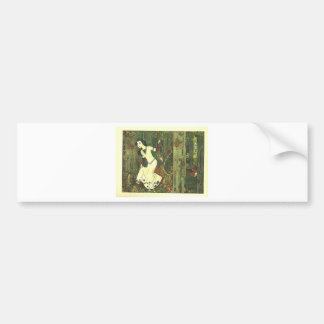 Fairytalesque. Sleeping Beauty and Cinderella Bumper Sticker