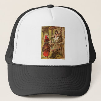 Fairytalesque. Sleeping Beauty and Cinderella Trucker Hat
