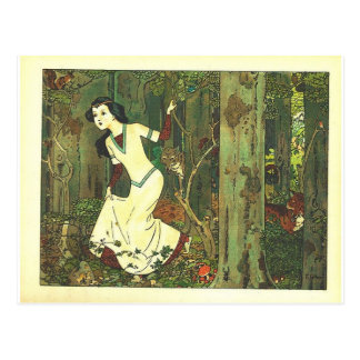 Fairytalesque - Snowwhite Postcard