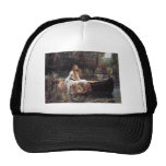 "Fairytalesque. -""The Lady of Shalott"" Mesh Hat"