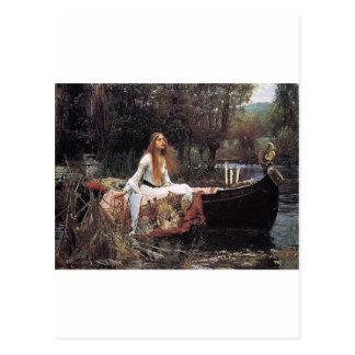"Fairytalesque. -""The Lady of Shalott"" Postcard"