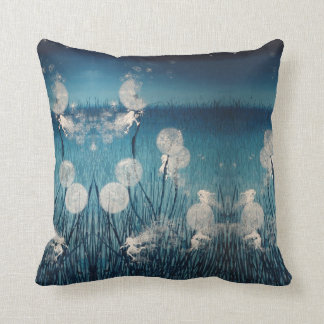 """Fairytopia 'Hide and Seek' 20"""" by 20"""" Pillow"""