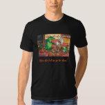 Fais hace la camiseta de la música de Cajun Remeras