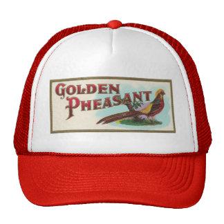 Faisán de oro gorras de camionero