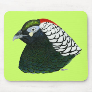 Faisán:  Señora Amherst Rooster Mousepads
