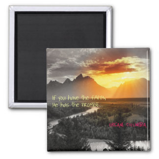 Faith 2 Inch Square Magnet