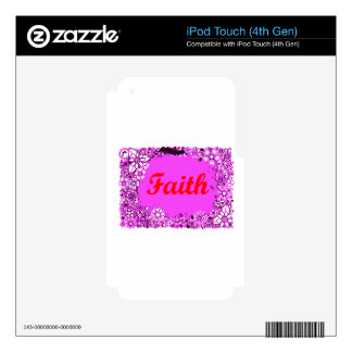 Faith 3 iPod touch 4G skin