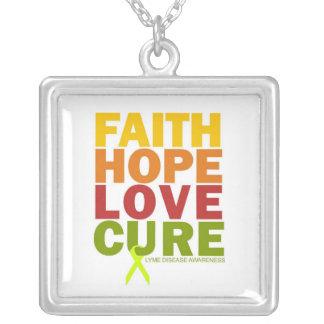 Faith 40 silver plated necklace