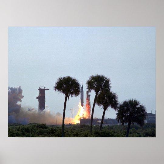 Faith 7 (Mercury Atlas 9) Launch Poster