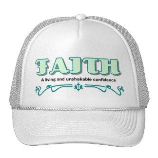 Faith, a living and unshakable confidence trucker hat