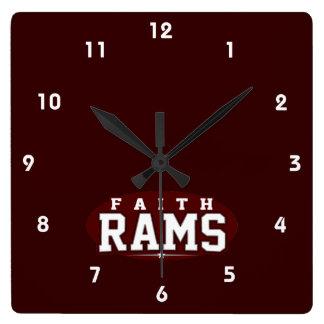 Faith Academy; Rams Wallclock