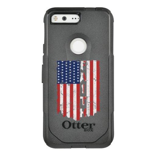 Faith American Flag Jesus Christ OtterBox Commuter Google Pixel Case