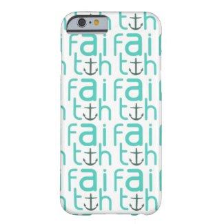 Faith Anchor Pattern iPhone 6 Case