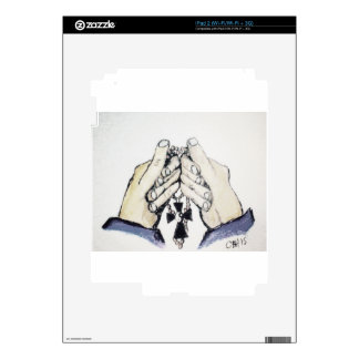 Faith and Balance Decal For iPad 2