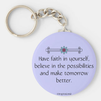 Faith and Belief Keychain