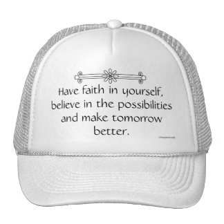 Faith and Belief Trucker Hat