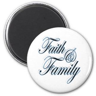 Faith and Family magnet