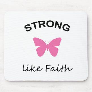 Faith and Folly and Cupcake Mouse Pad