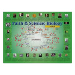 Faith and Science: Biology (Krebs Cycle) Print