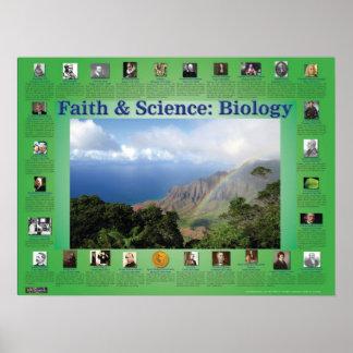 Faith and Science: Biology Print