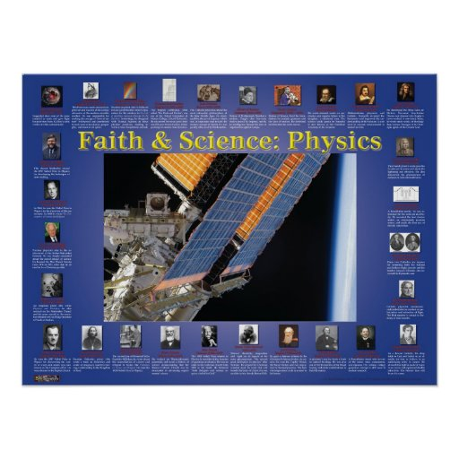Faith and Science: Physics Posters