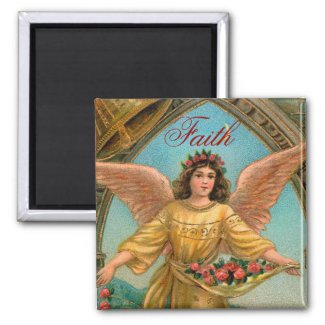 Faith Angel Magnet - 2 of a set of 4 magnet