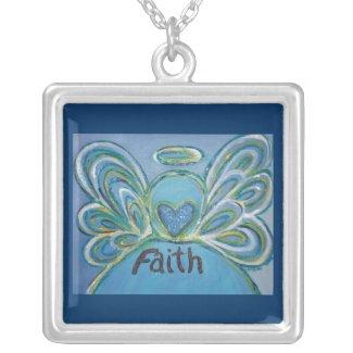 Faith Angel Necklace