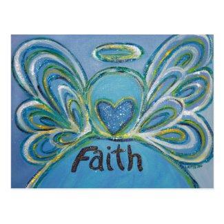 Faith Angel Postcard