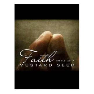 Faith As Small As a Mustard Seed Postcard
