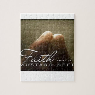 Faith As Small As A Mustard Seed Puzzle